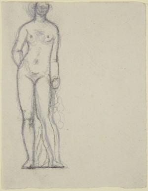 Nude women left behind