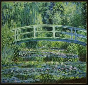 Water Lilies And Japanese Bridge Y1972 15